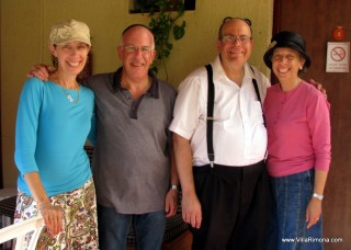 Mark & Cheryle Levitt and Sharon & David Zuckerbrod