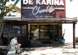De Karina Chocolate Factory, Golan Heights